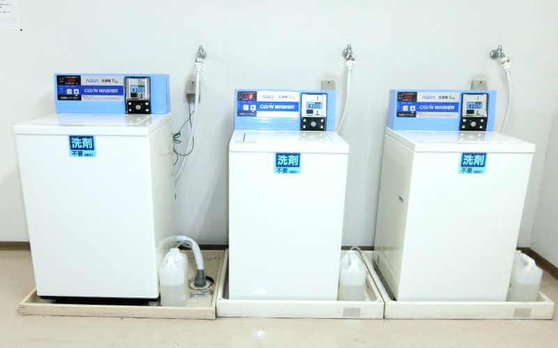 オアーゼ扇町 洗濯機を一新!
