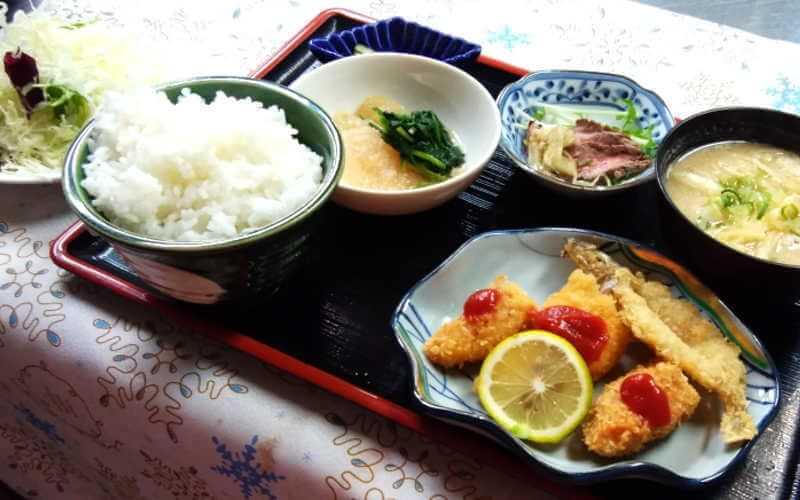 ミールズ江坂 レストランかもしま夕食