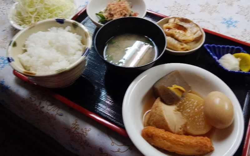 ミールズ江坂 12月23日の夕食