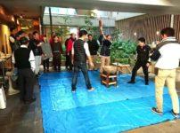 ミールズ江坂 餅つき大会